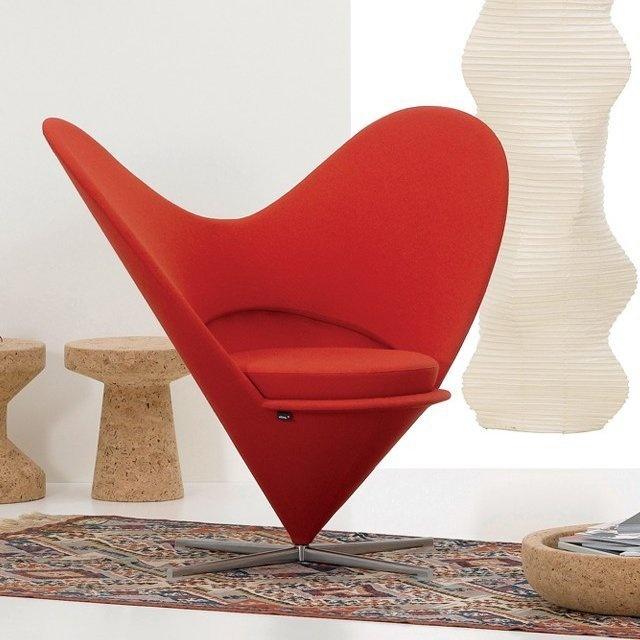 Vitra Heart Cone Chair #tech #flow #gadget #gift #ideas #cool