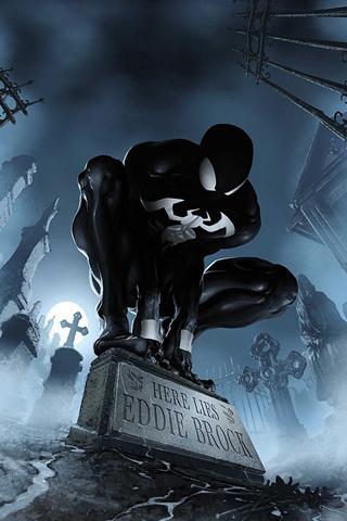Wallpaper for iPhone: Spiderman Movie Size: 320 x 480 | PediaPie #spiderman #suit #venom #black