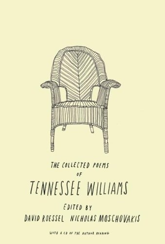 The Book Cover Archive: The Collected Poems of Tennessee Williams, design by Brian Rea #design #graphic #books #covers #illustration #typography