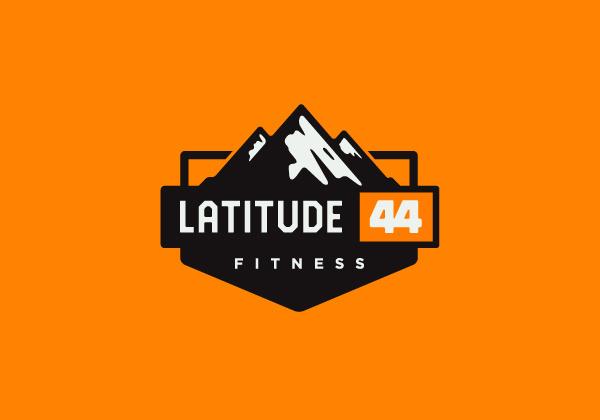 Fitness logo #mountains #icon