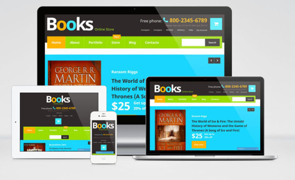 Book Store Woocommerce Themes
