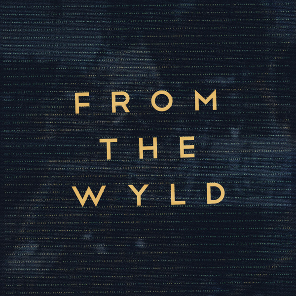 50,000 Thoughts - From the Wyld #album #old #tree #print #texture #cover #music #layout #typography