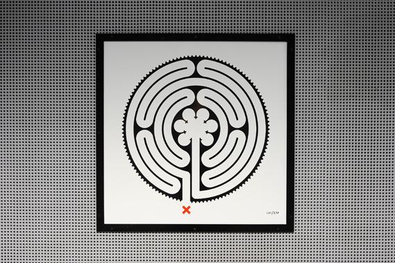 Creative Review Mark Wallinger's Underground Labyrinth #labyrinth #art #underground