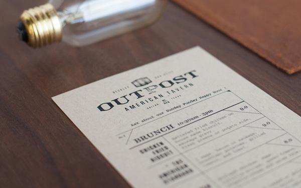 foundry co via www.mr cup.com #logo #menu #collateral #restaurant