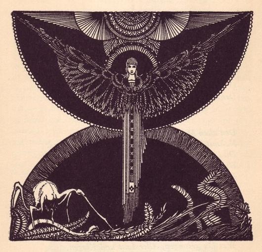 Harry Clarke's Faust - 50 Watts #harry #illustration #clarke #faust