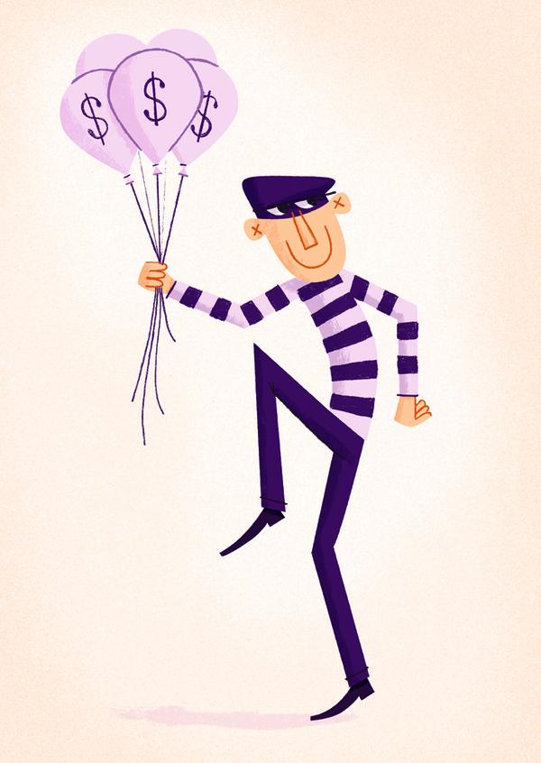 Burglar2 md #illustration