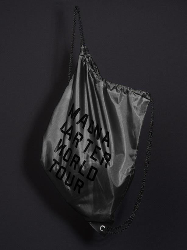 jay z – magna carter world tour #bag
