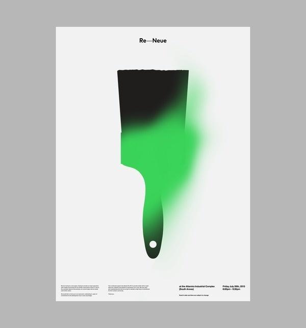 AIC: Re Neue Art & Design by D. Kim #paint #poster #brush
