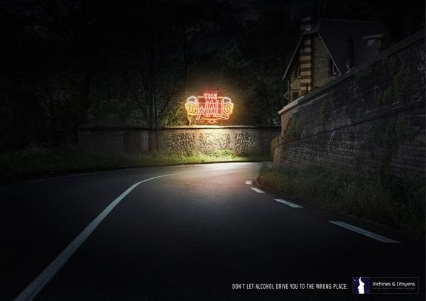 Victimes & Citoyens : Wrong Place #drunk #advertising