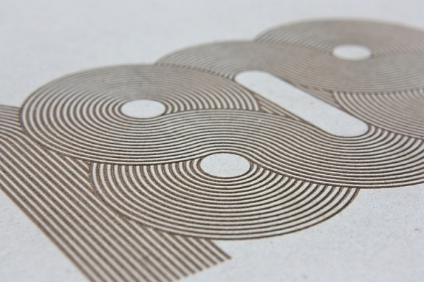 John Barton #etch #graphic #laser #cardboard