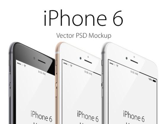 Free Vector iPhone 6 Mockup