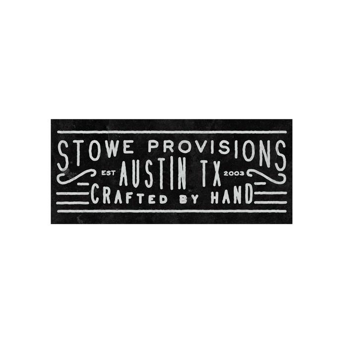 Branding work for Stowe Provisions by Nicholas Samendinger #lettering #branding #design #vintage #logo #typography