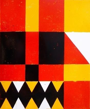 2011 : roman klonek #woodcut #print #roman #block #klonek