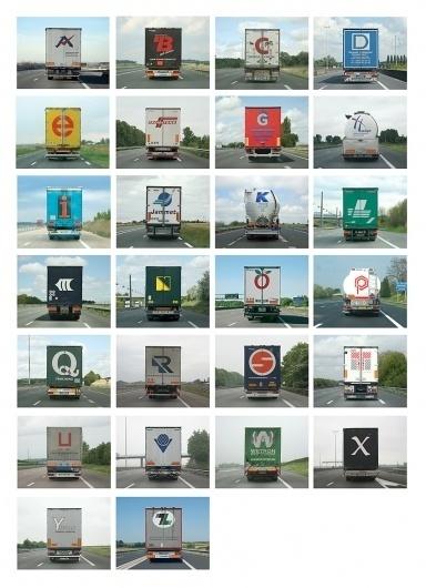 Alphabet Truck vol. 2 : Eric Tabuchi #truck #alphabet
