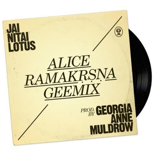 Jai Nitai Lotus /// ALICE PIECE PEACE (ALICE RAMAKRSNA GEEMIX by Georgia Anne Muldrow) /// Coming Soon. #music #single #album #art