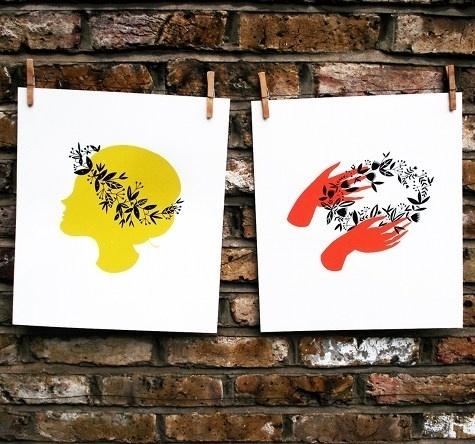 Design*Sponge » Blog Archive » karolin schnoor floral prints #print #floral