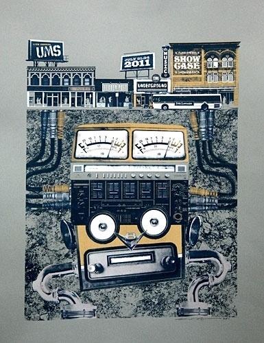 Ink Lounge Creative { art prints } #ink #alden #denver #screenprint #stu #colorado #gigposter #ums #poster #lounge