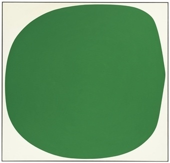 Ellsworth Kelly (b. 1923) | Green White | Post-War & Contemporary Art Auction | 20th Century, Paintings | Christie's #kelly #ellsworth #art #paintings
