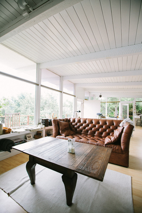 CJWHO ™ (a gathering with kinfolk by woodnotephotography ...) #white #design #interiors #brown #leather #luxury