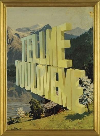 Wayne White | Word Paintings | bumbumbum #painting #awsome #art #typography