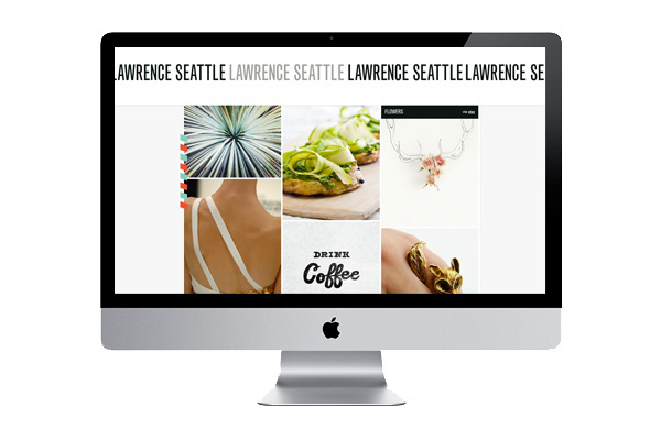 lawrence seattle #white #simple #back #blog #grey