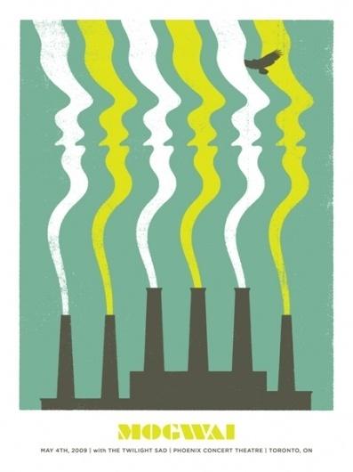 GigPosters.com - Mogwai - Twilight Sad, The #doublenaut #gig #design #print #screen #illustration #poster