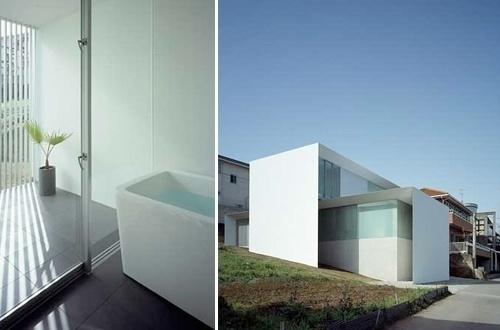AR House by Kubota Architect Atelier | blueverticalstudio #house #modern #glass #architecture #minimalist