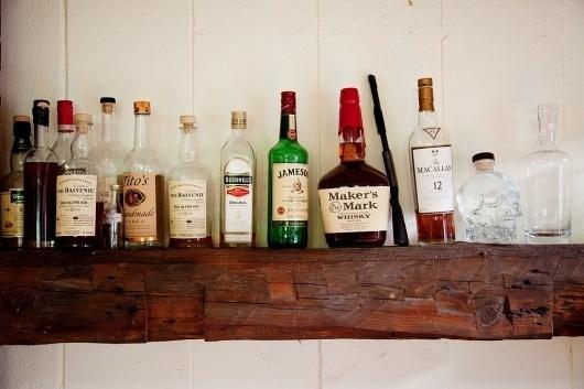 Dan Martensen and Shannan Click at Home - 9_21_09_DanShannan09547 #interior #rustic #photography #booze