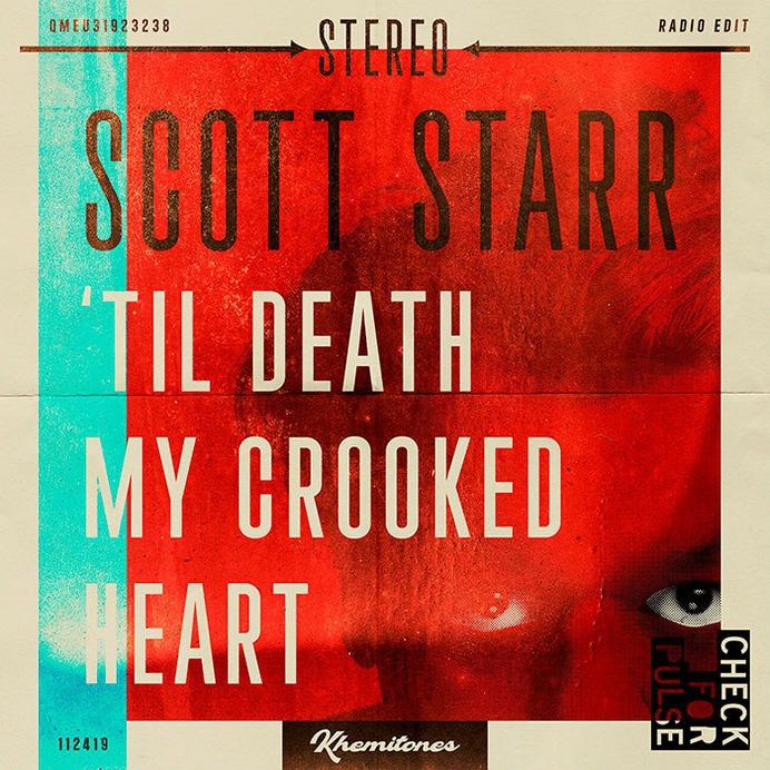 Scott Starr   Album Cover Art #album #covers #vintage #retro #vinyl #recordsleeve #graphic #halftone #record #music #band