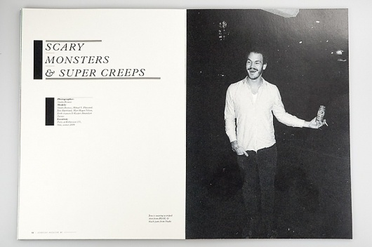 –Everyday Magazine : Mikael Fløysand #magazine #typography