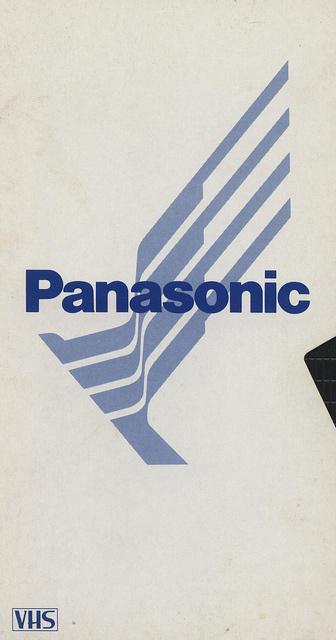 VHS Case #panasonic #vhs #vintage #80s