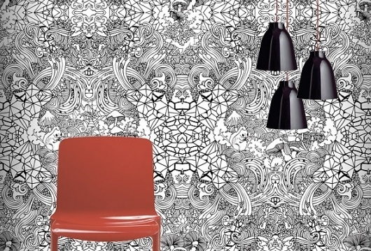 Intricate wallpaper | Pattern People | Surface Design + Inspiration #pattern #flora #fauna #graphic #people #illustration #and #wallpaper