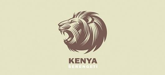Amazing and Strong Lion Logo Designs » Design You Trust – Design and Beyond! #logo #lion #kenya
