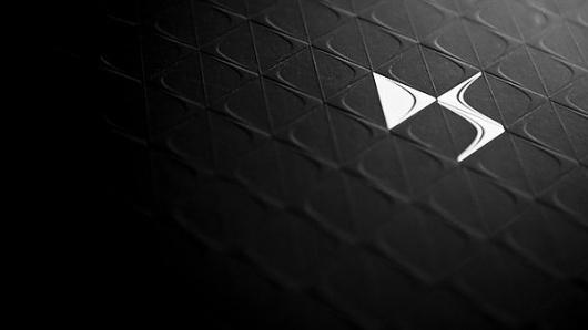 Citroën DS Line Book on the Behance Network #logo