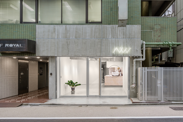 AWAJI by SNARK #concrete #japan #cafe #minimalism #leibal