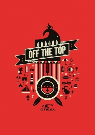 Various Illustrations 2012 on the Behance Network #vector #red #black #poster #grey