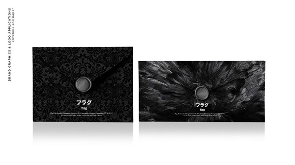 Bruno Tatsumi / Flag.cx #branding #office #design #graphic #evenlope #identity