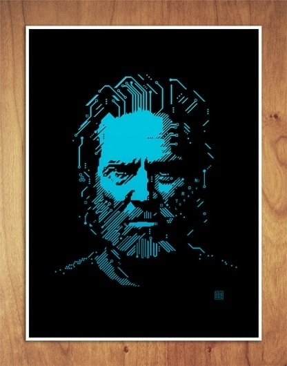 Changethethought™ | Little White Lies: Tron Legacy #white #tron #lies #print #jeff #bridges #little #poster #flynn #magazine