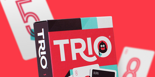Trio Card Game #trio #packaging #card #illustration #desgin #game #character