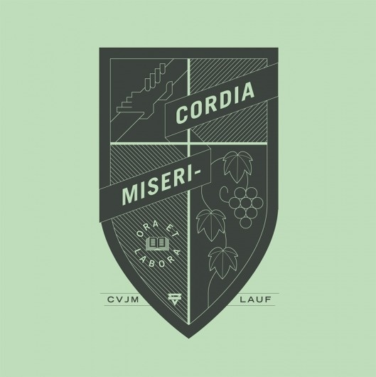 tint.de ¬ Geometry ¬ Misericordia #line #sign #cross #graphic #crest #symbol #logo