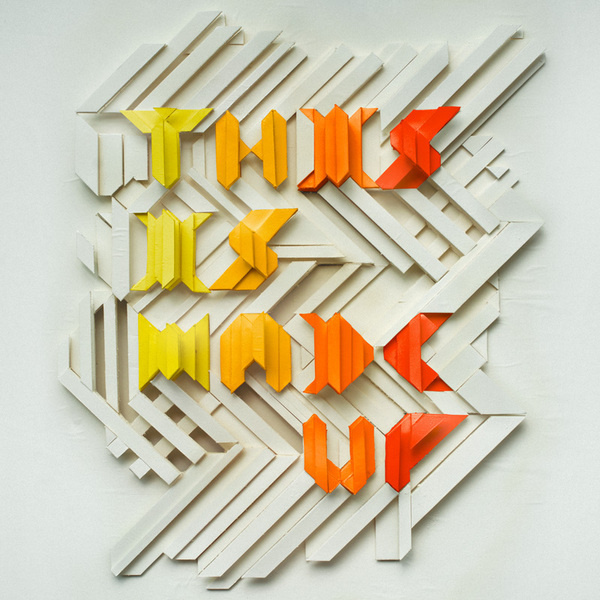 This is Made Up by Charles Williams #type #handmade #typography