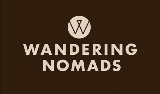 Bostock and Pollitt - design agency London - Wandering Nomads brand #logo #identity #branding