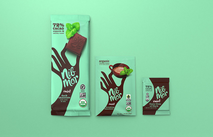 NibMor chocolate packaging #packaging #drawing #chocolate #one #colour