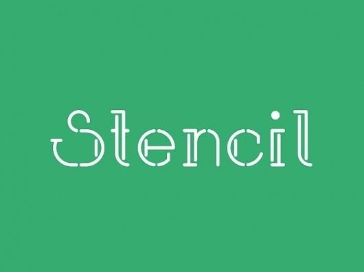 Neal Fletcher — Portfolio #design #stencil #fletcher #decani #art #deco #type #neal #typography