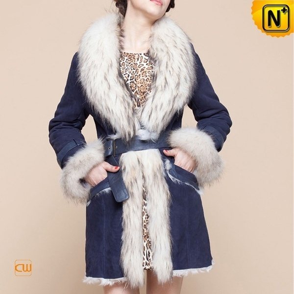 Fur Trimmed Coat for Women CW601050 #trimmed #fur #coat