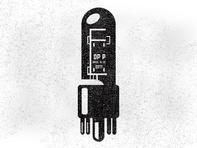 Dribbble - Tube by Kendrick Kidd #kidd #guitar #dribbble #white #amp #print #tube #black #screen #and #kendrick