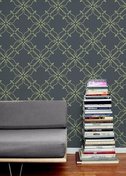 Loops Wallpaper #geometry #patterns