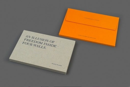 Looks like good Graphic Design by Watson & Company #hotstamp #direct #cardboard #card #mailer