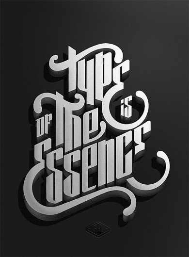 New Typography Designs » Design You Trust – Social Inspirations! #essence #of #is #the #poster #type