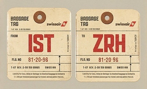 FFFFOUND! #design #swiss #luggage #tag
